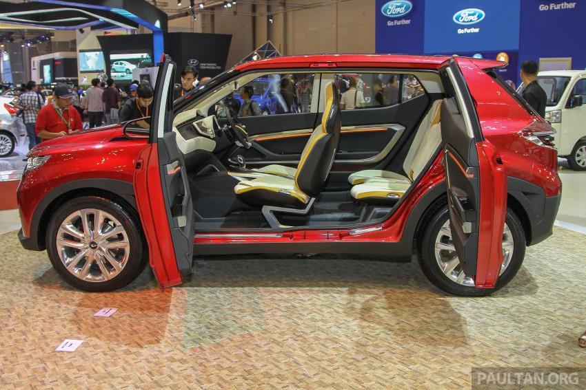 GIIAS 2015: Daihatsu FX Concept compact SUV unveiled – a possible Honda HR-V rival? Image #369449