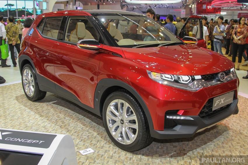 GIIAS 2015: Daihatsu FX Concept compact SUV unveiled – a possible Honda HR-V rival? Image #369462