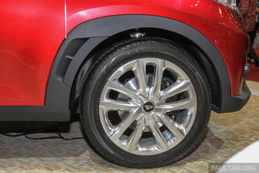 GIIAS 2015: Daihatsu FX Concept compact SUV unveiled – a possible Honda HR-V rival? Image #369465