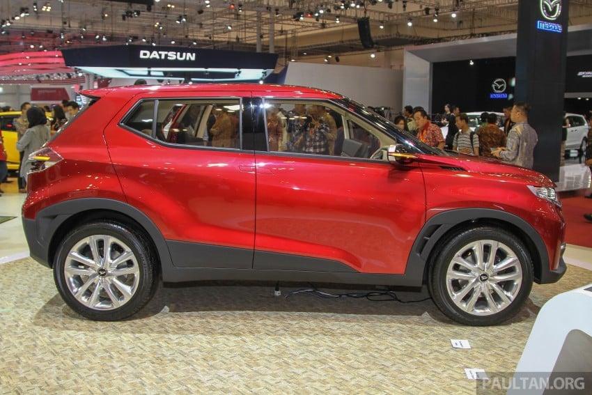 GIIAS 2015: Daihatsu FX Concept compact SUV unveiled – a possible Honda HR-V rival? Image #369455