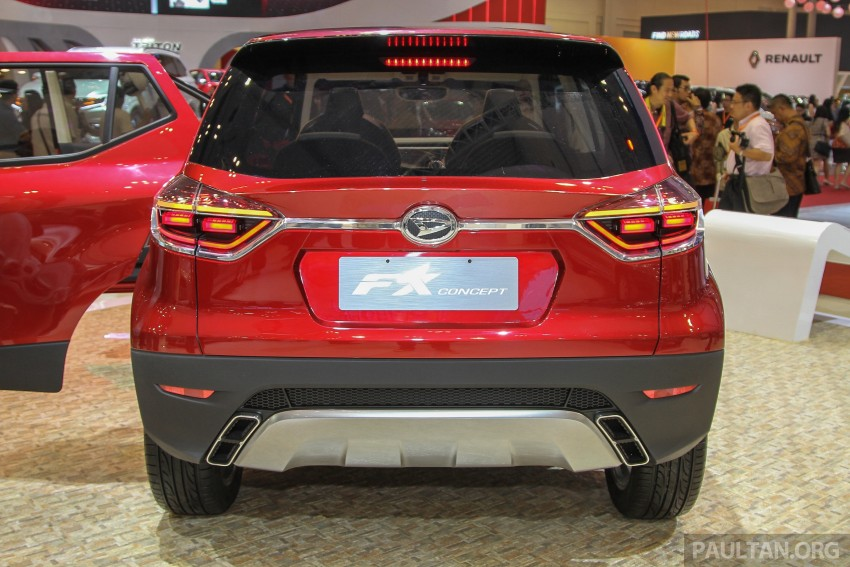 GIIAS 2015: Daihatsu FX Concept compact SUV unveiled – a possible Honda HR-V rival? Image #369457