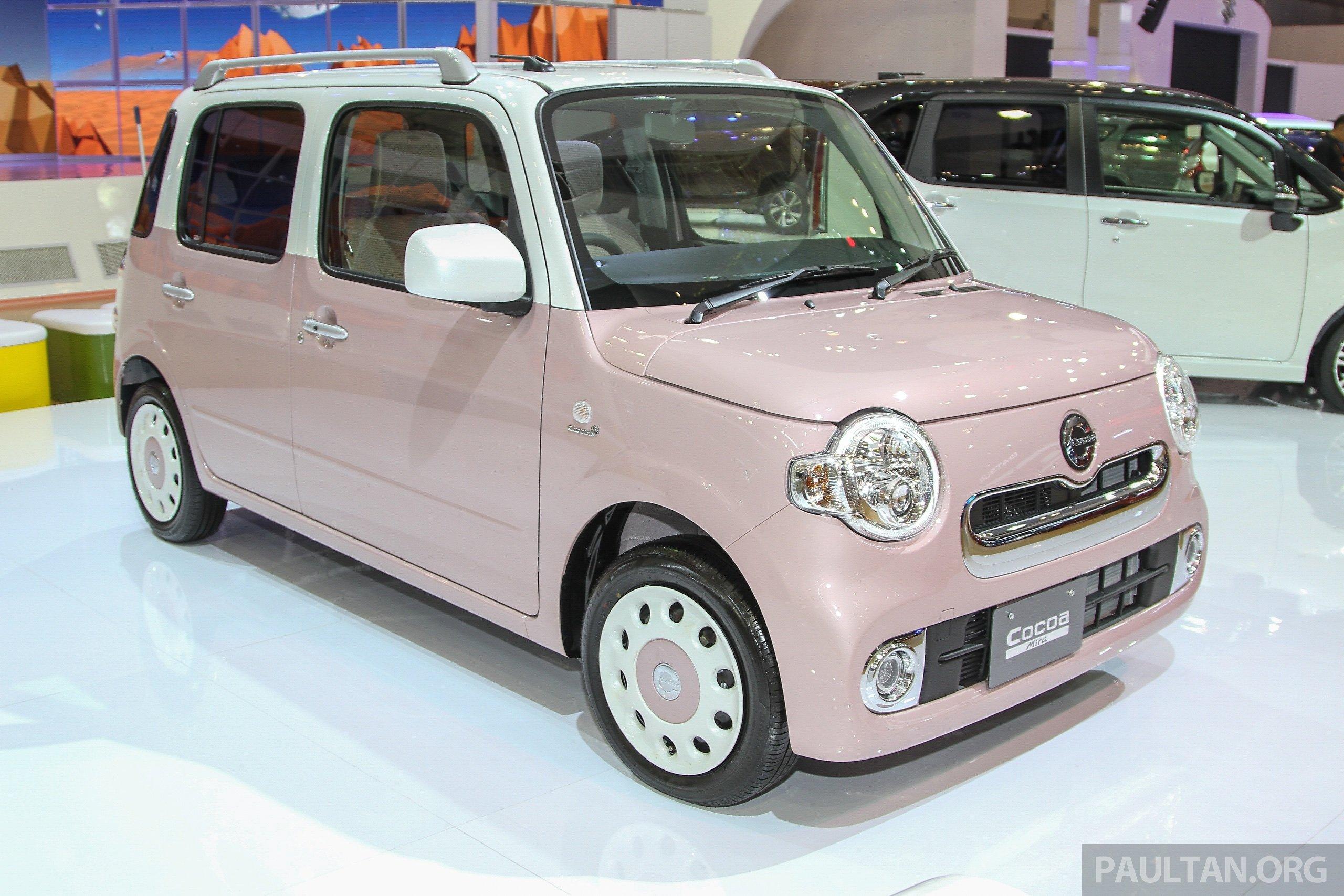 GIIAS 2015: Daihatsu Move Custom, Mira Cocoa, Wake Paul ...