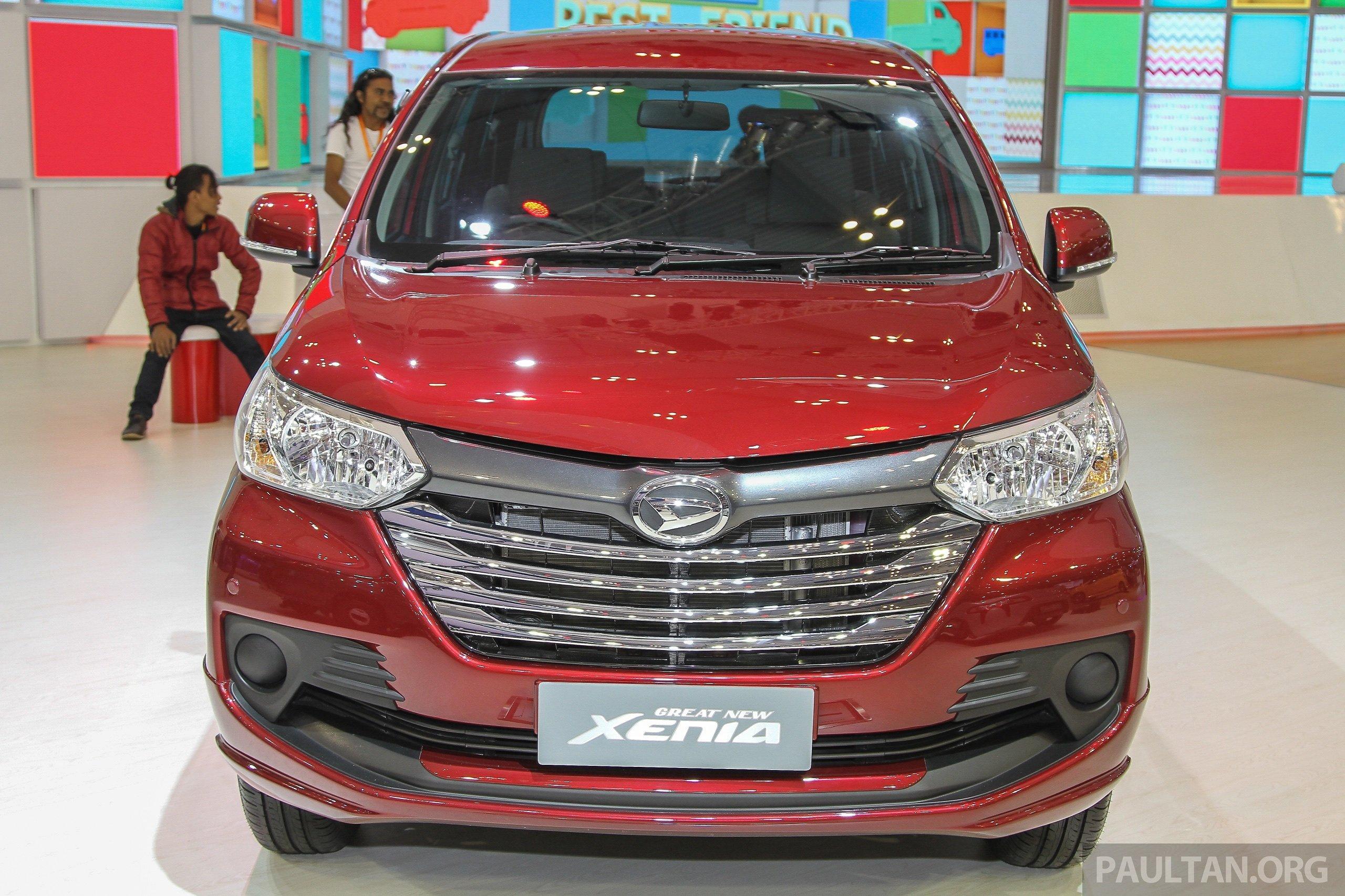 GIIAS 2015: Daihatsu Xenia - facelifted Avanza's sister
