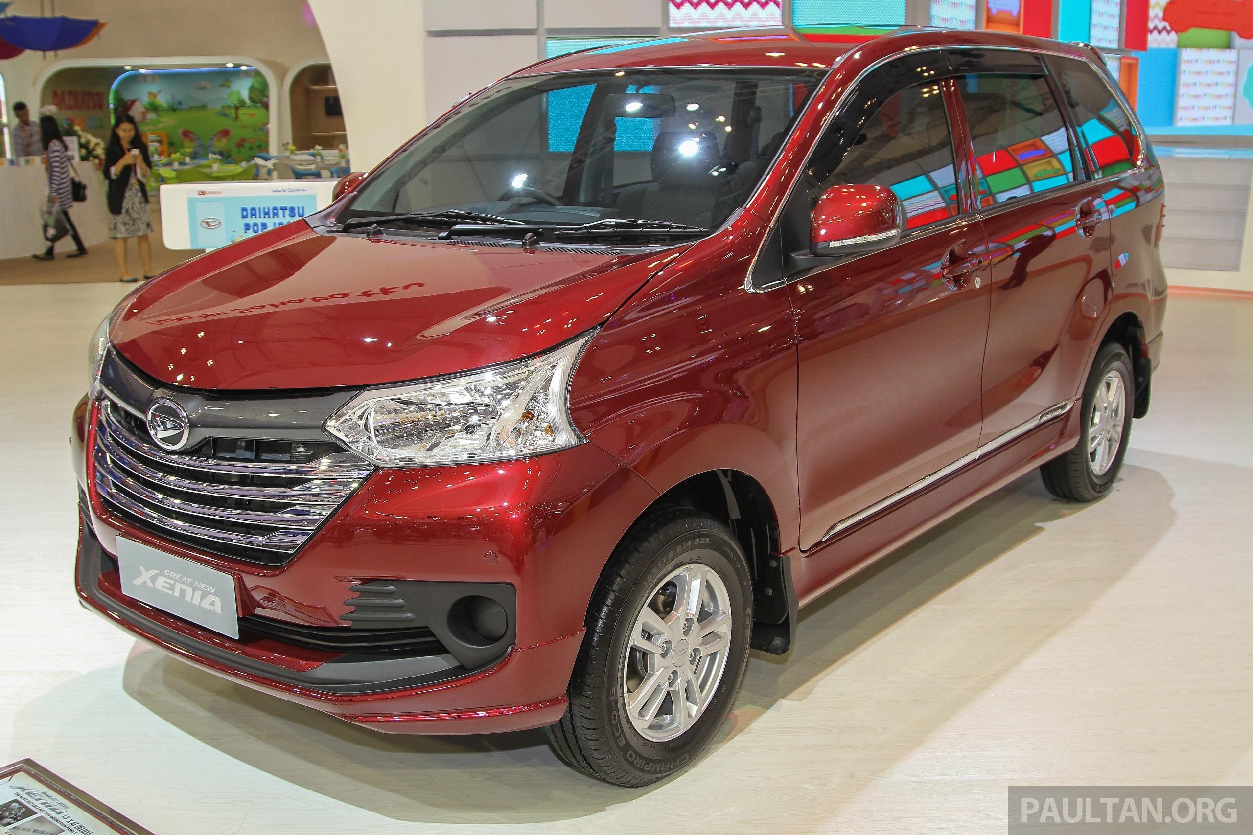 Giias 2015 Daihatsu Xenia Facelifted Avanza S Sister