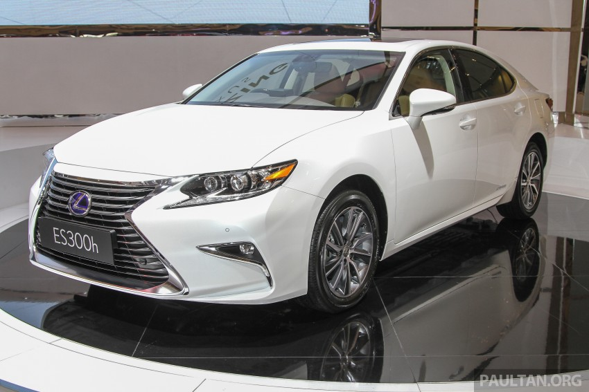 Lexus ES facelift launched in Malaysia – 3 variants Image #370374