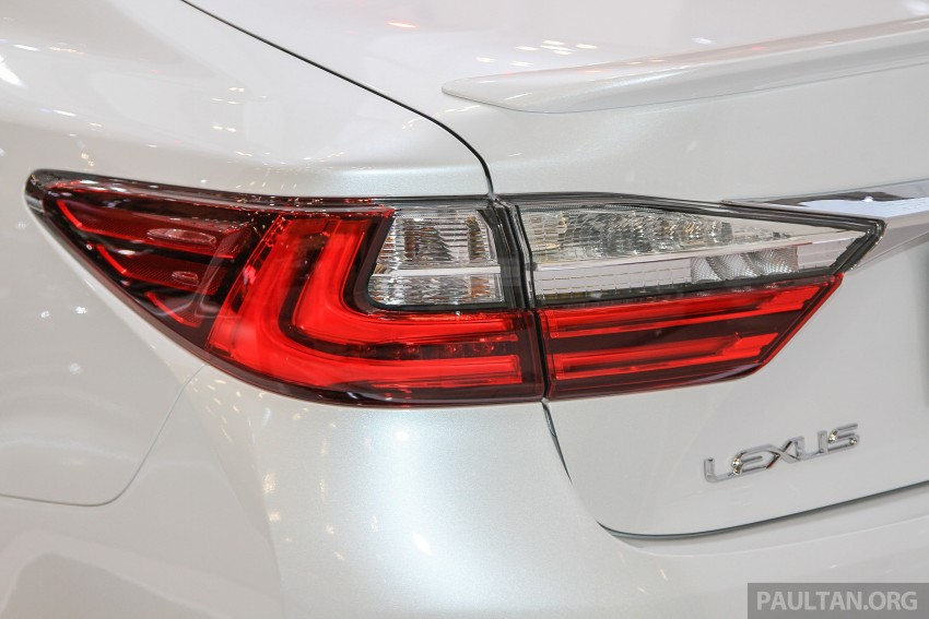 Lexus ES facelift launched in Malaysia – 3 variants Image #370385