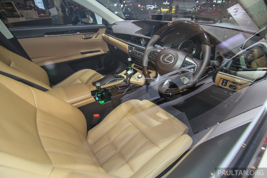 Lexus ES facelift launched in Malaysia – 3 variants Image #370388
