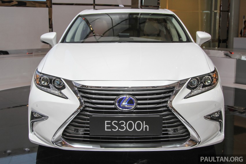 Lexus ES facelift launched in Malaysia – 3 variants Image #370375