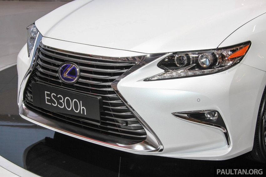 Lexus ES facelift launched in Malaysia – 3 variants Image #370376