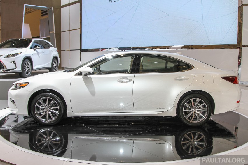 Lexus ES facelift launched in Malaysia – 3 variants Image #370379