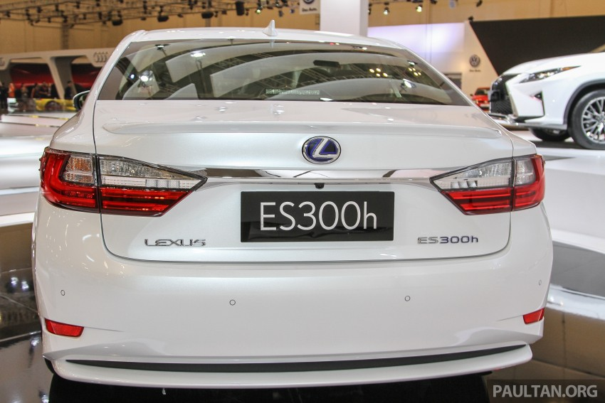 Lexus ES facelift launched in Malaysia – 3 variants Image #370384