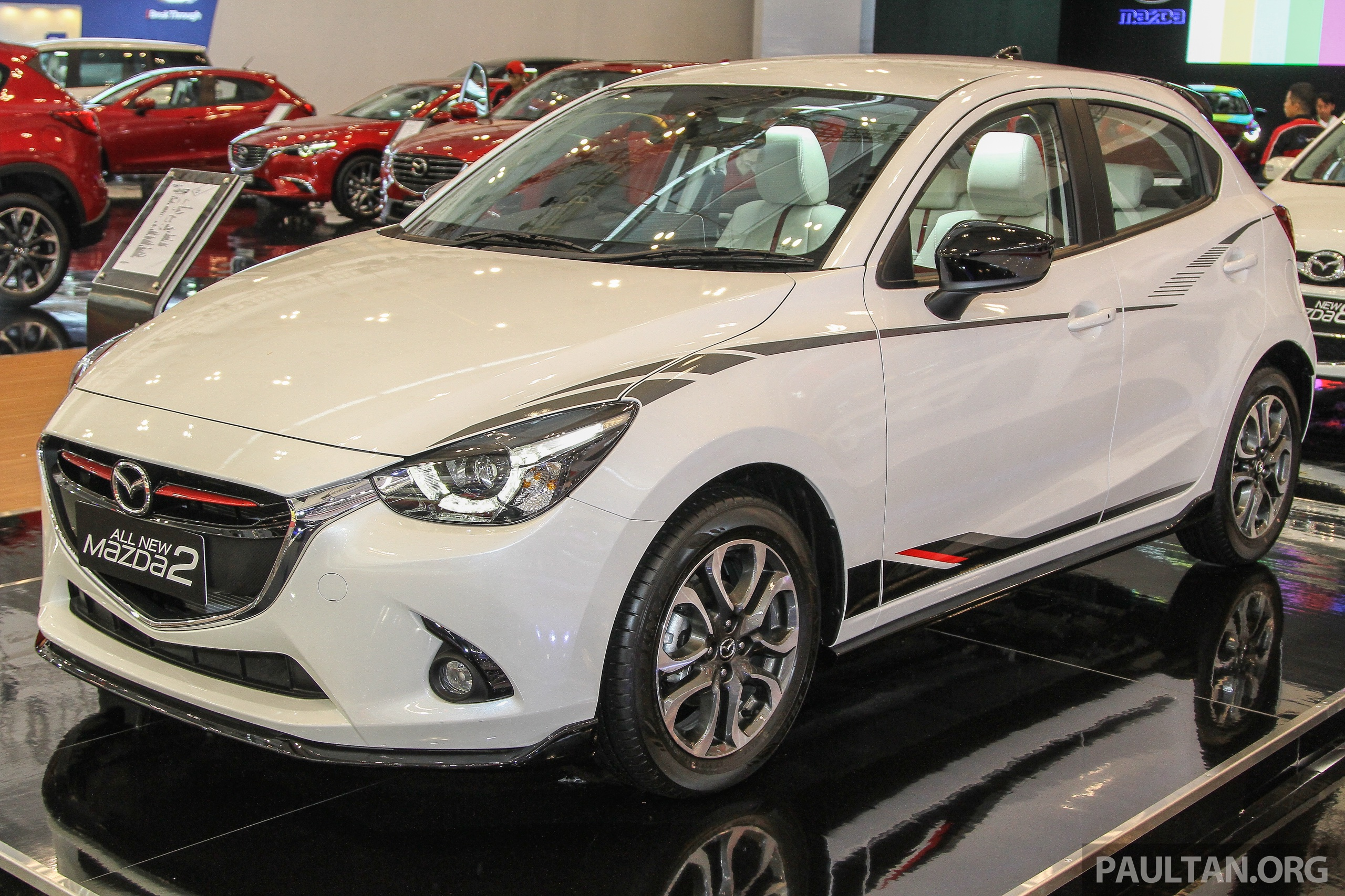 Giias 2015 Mazda 2 Limited Edition 200 For Indonesia