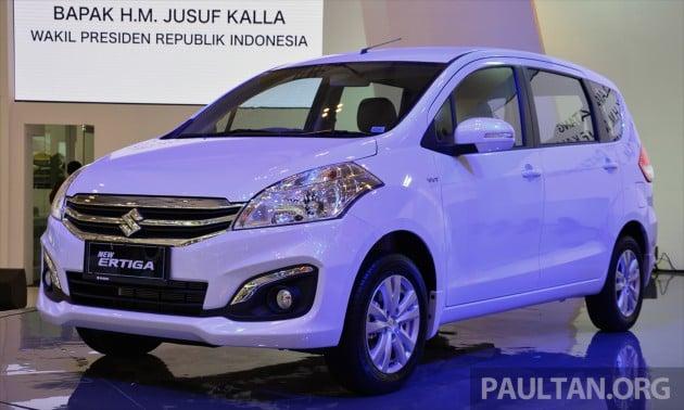 GIIAS Suzuki Ertiga Facelift 1