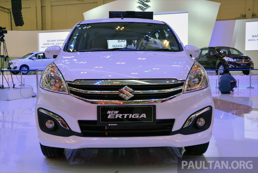 GIIAS 2015: Suzuki Ertiga facelift – updated 7-seater Image #369294