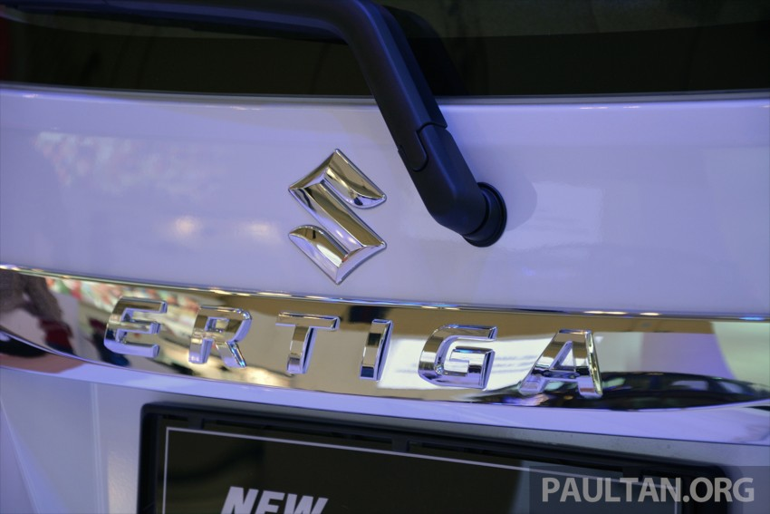 GIIAS 2015: Suzuki Ertiga facelift – updated 7-seater Image #369291