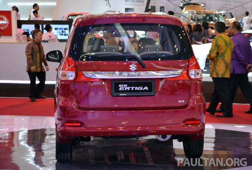 GIIAS 2015: Suzuki Ertiga facelift – updated 7-seater Image #369254