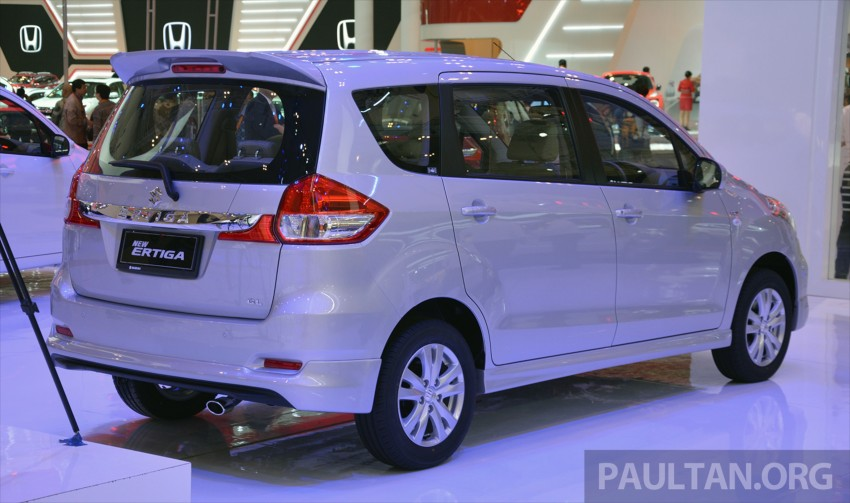 GIIAS 2015: Suzuki Ertiga facelift – updated 7-seater Image #369253