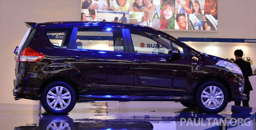 GIIAS 2015: Suzuki Ertiga facelift – updated 7-seater Image #369252