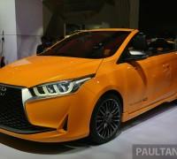 GIIAS Toyota Yaris Convertible 3