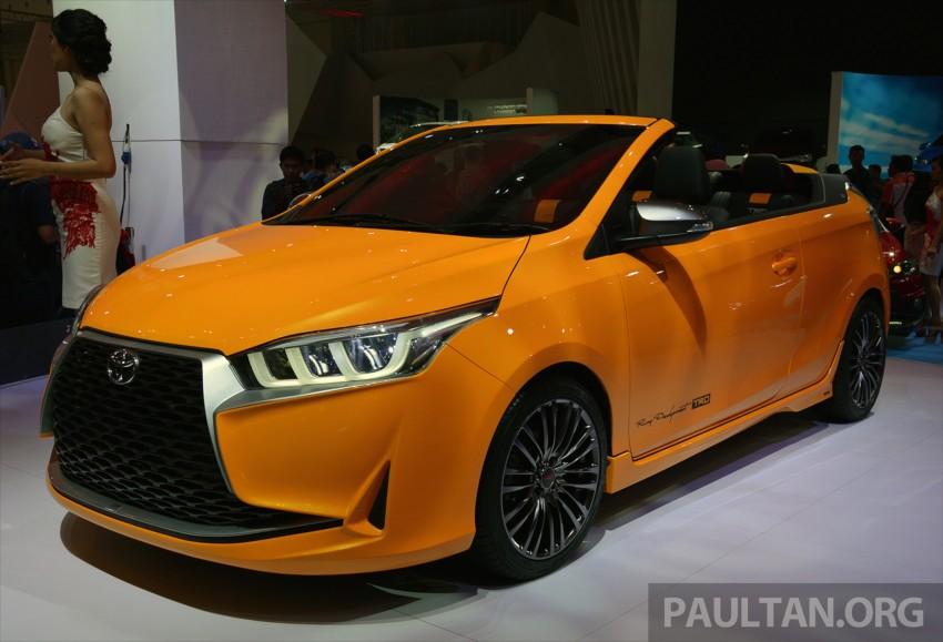 Giias 2015 Toyota Yaris Legian A Yaris Convertible
