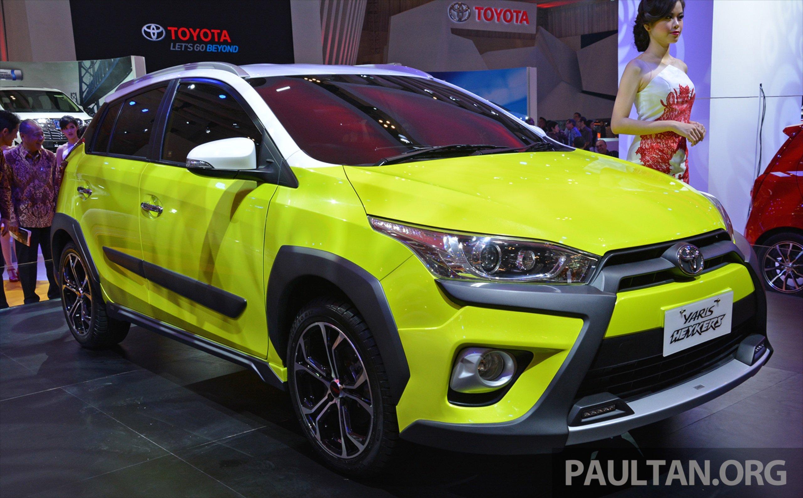 Giias 2015 Toyota Yaris Heykers Concept Suv Looks