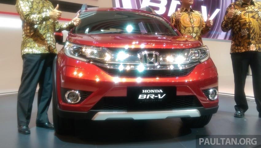 GIIAS 2015: Honda BR-V Prototype, 7-seat SUV debuts Image #369272