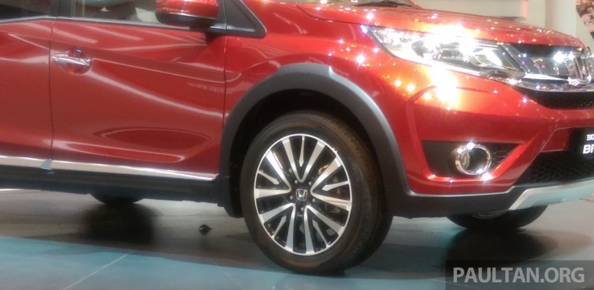GIIAS 2015: Honda BR-V Prototype, 7-seat SUV debuts Image #369277