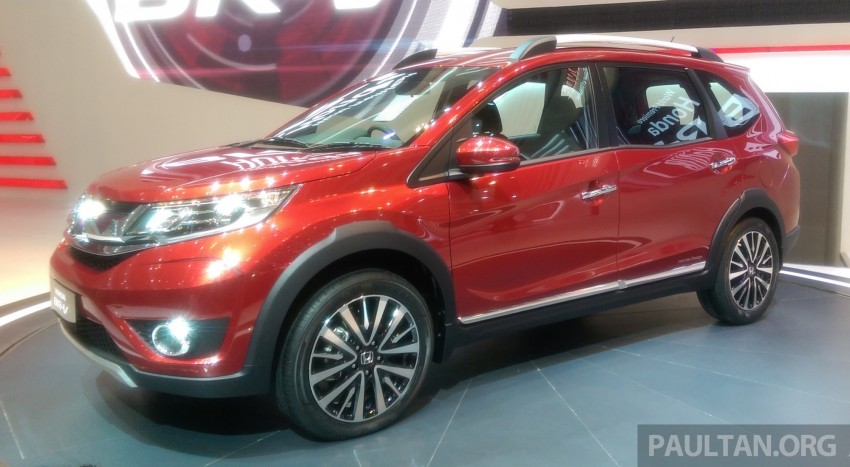 GIIAS 2015: Honda BR-V Prototype, 7-seat SUV debuts Image #369278