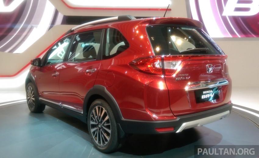 GIIAS 2015: Honda BR-V Prototype, 7-seat SUV debuts Image #369282