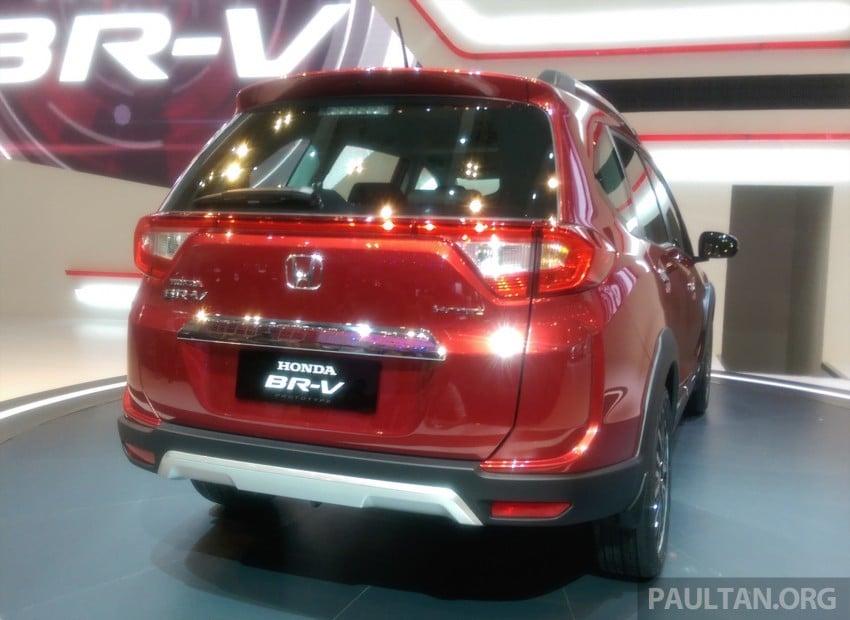 GIIAS 2015: Honda BR-V Prototype, 7-seat SUV debuts Image #369283