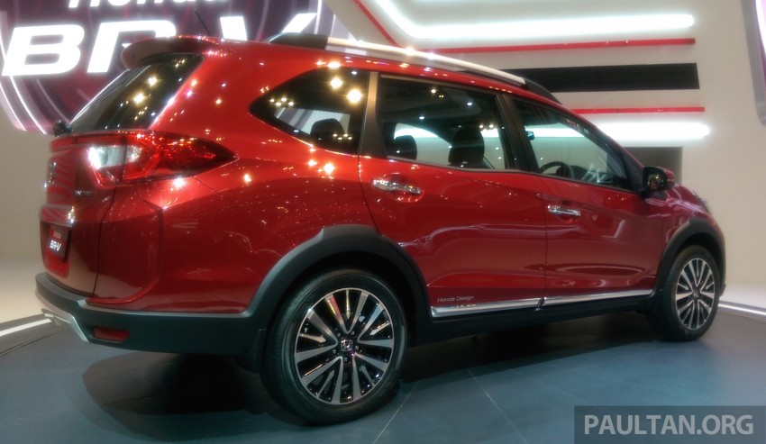 GIIAS 2015: Honda BR-V Prototype, 7-seat SUV debuts Image #369285