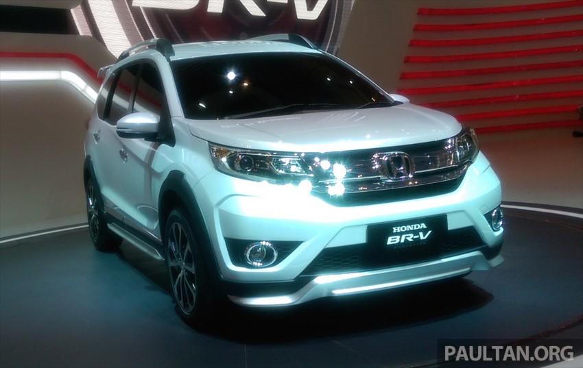 GIIAS 2015: Honda BR-V Prototype, 7-seat SUV debuts Image #369286