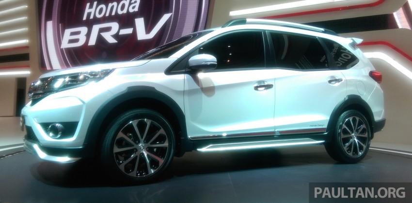 GIIAS 2015: Honda BR-V Prototype, 7-seat SUV debuts Image #369287