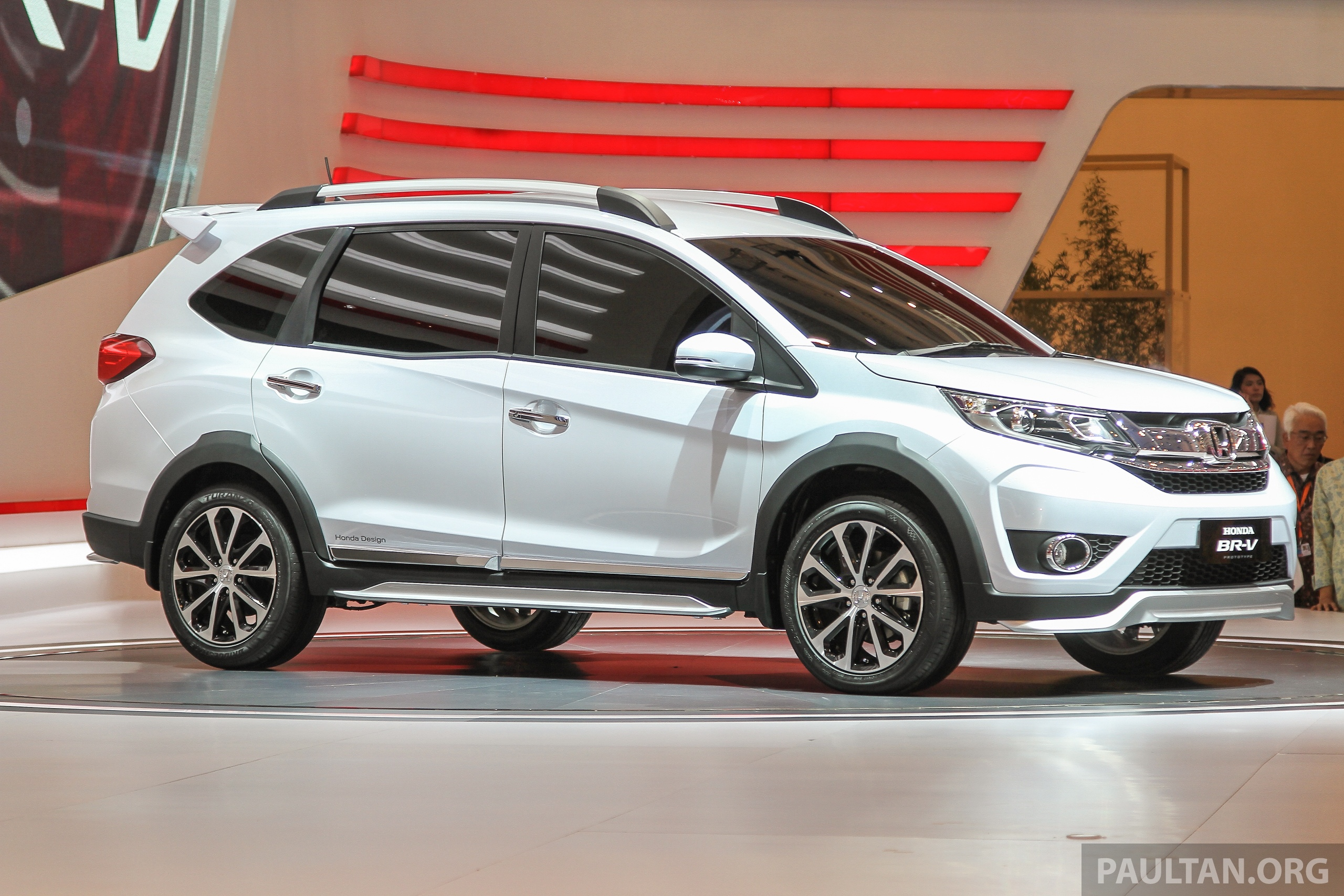 GALLERY: Honda BR-V Prototype debuts at GIIAS 2015 – crossover is Malaysian-bound in 2016 Image ...