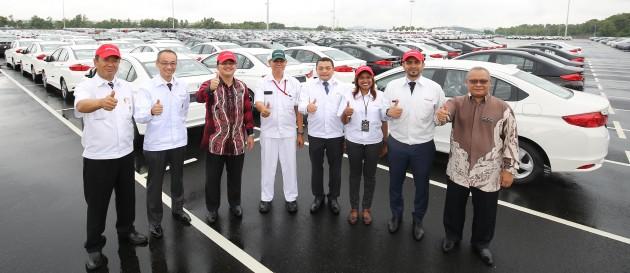 Honda Malaysia PDI Yard 3