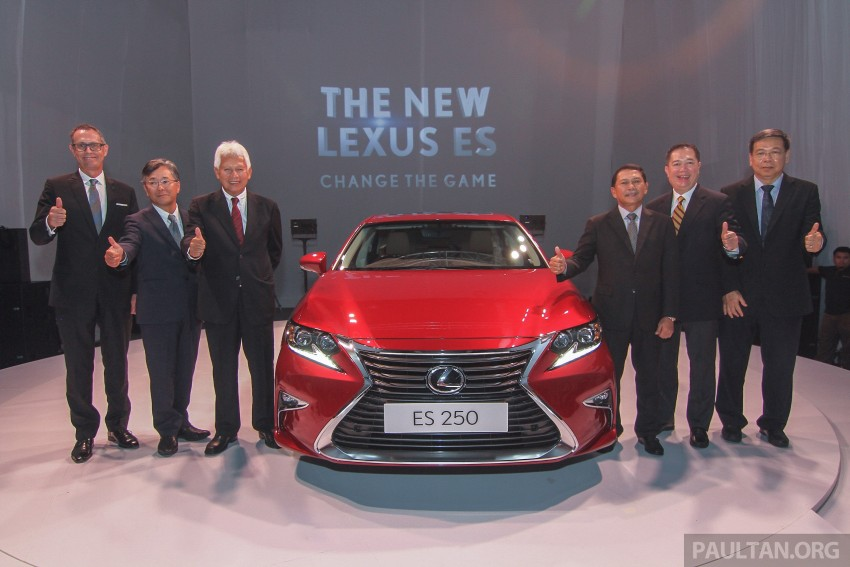 Lexus ES facelift launched in Malaysia – 3 variants Image #370258
