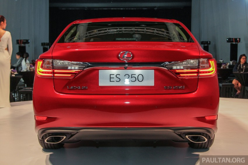 Lexus ES facelift launched in Malaysia – 3 variants Image #370268