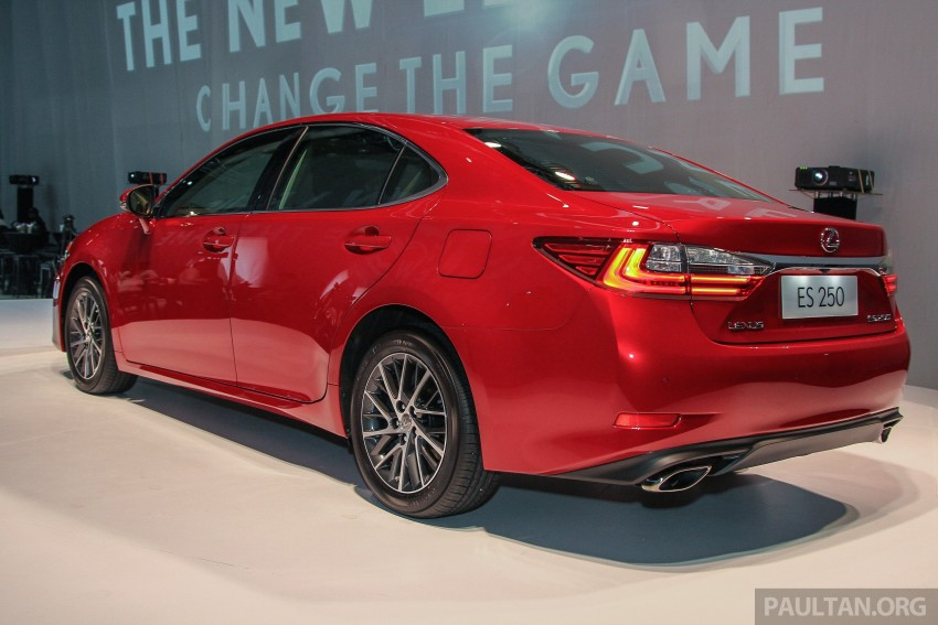 Lexus ES facelift launched in Malaysia – 3 variants Image #370269