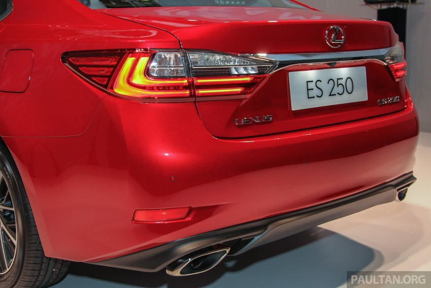 Lexus ES facelift launched in Malaysia – 3 variants Image #370270