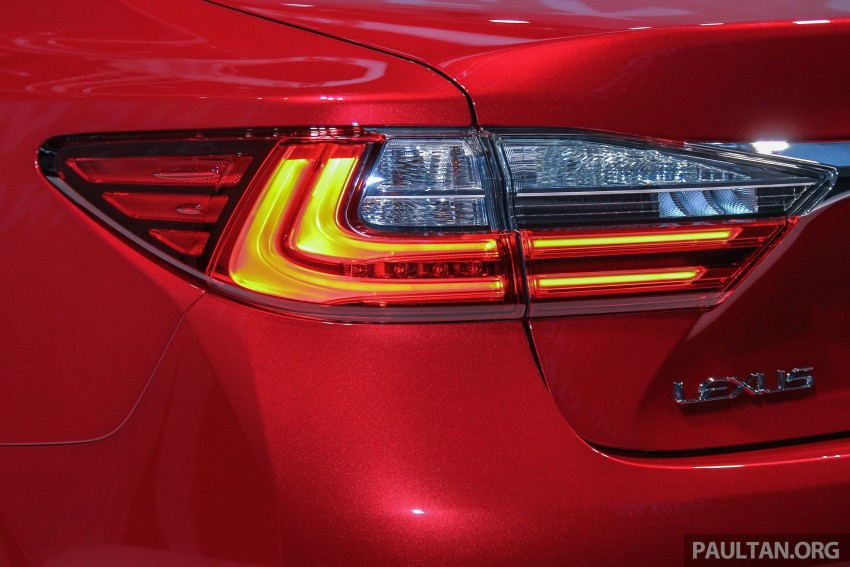 Lexus ES facelift launched in Malaysia – 3 variants Image #370271