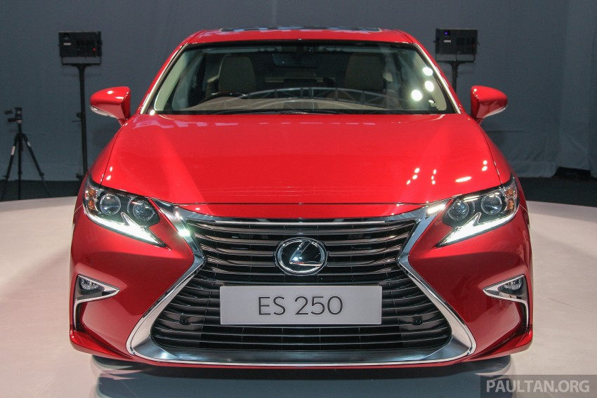 Lexus ES facelift launched in Malaysia – 3 variants Image #370259