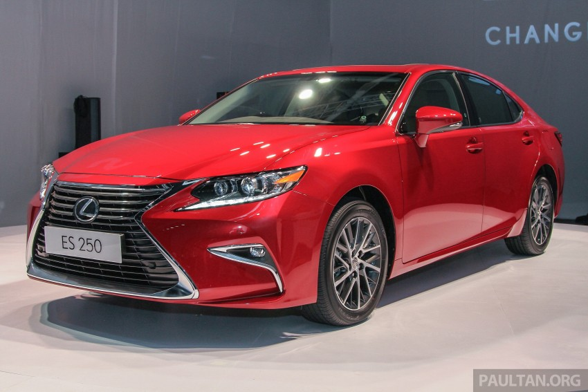 Lexus ES facelift launched in Malaysia – 3 variants Image #370260
