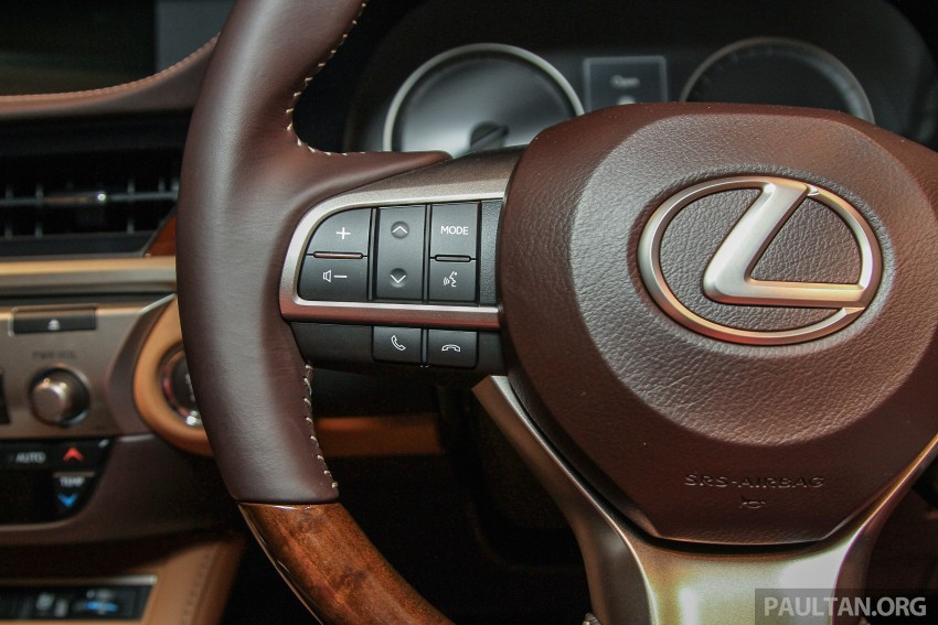 Lexus ES facelift launched in Malaysia – 3 variants Image #370295