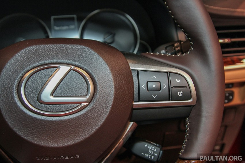 Lexus ES facelift launched in Malaysia – 3 variants Image #370296