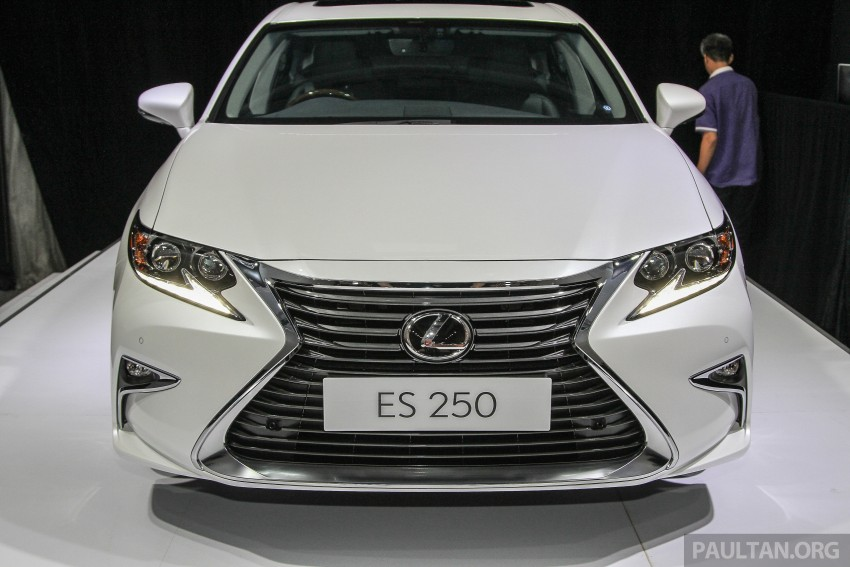 Lexus ES facelift launched in Malaysia – 3 variants Image #370307