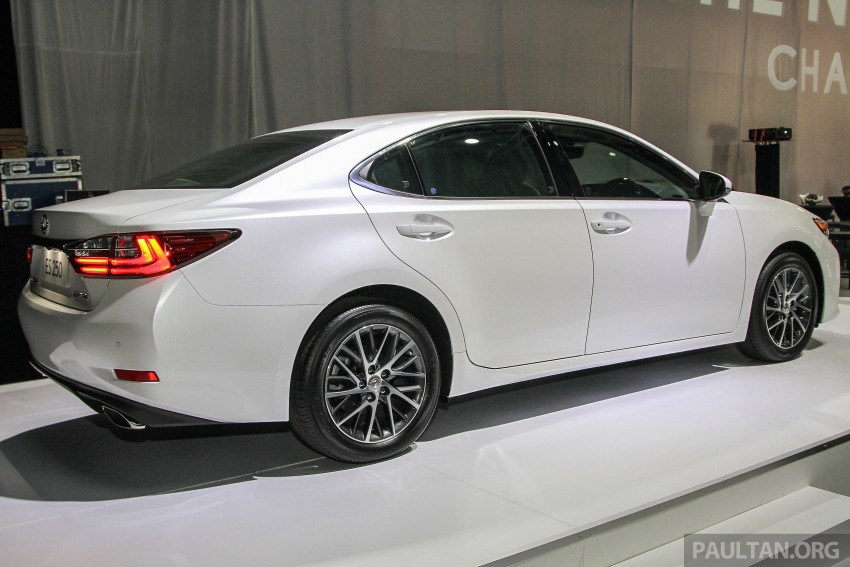 Lexus ES facelift launched in Malaysia – 3 variants Image #370310