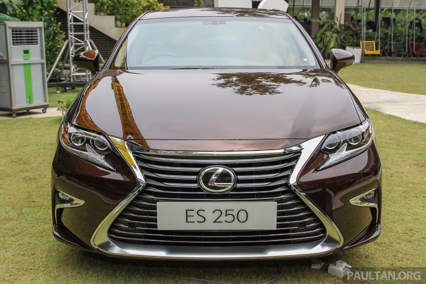 Lexus ES facelift launched in Malaysia – 3 variants Image #370311