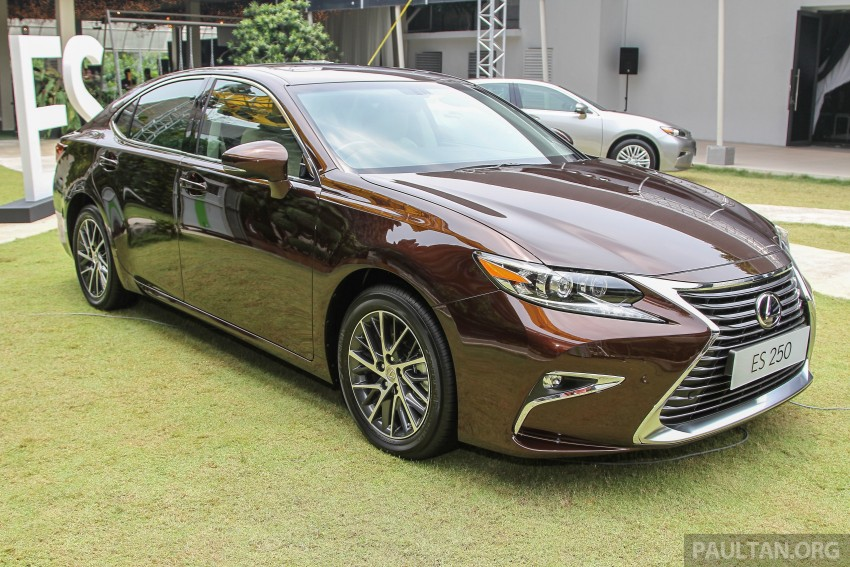 Lexus ES facelift launched in Malaysia – 3 variants Image #370312