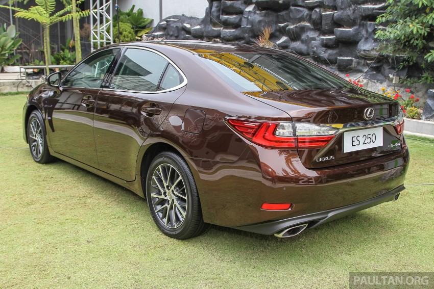 Lexus ES facelift launched in Malaysia – 3 variants Image #370314