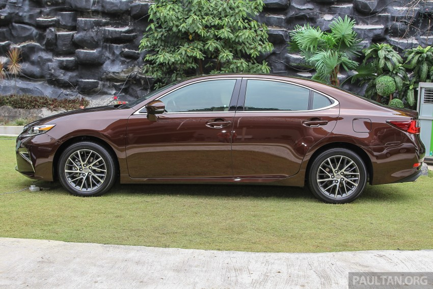 Lexus ES facelift launched in Malaysia – 3 variants Image #370315